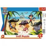 Trefl-31350 Rahmenpuzzle - Paw Patrol