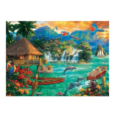 Puzzle  Trefl-33072 Island Life