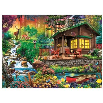 Puzzle Trefl-33074 Cottage in the Forest