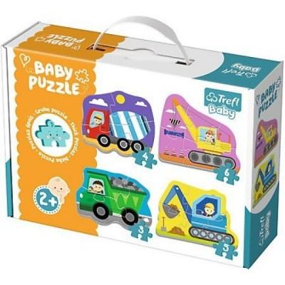 Trefl-36072 4 Baby Puzzles