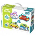 Trefl-36075 4 Baby Puzzles