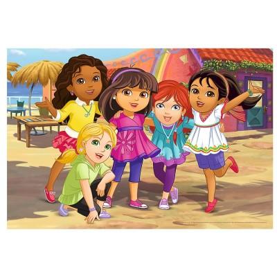 Trefl-36512 Color Puzzle - Dora