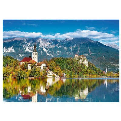 Puzzle  Trefl-37259 Bled, Slowenien