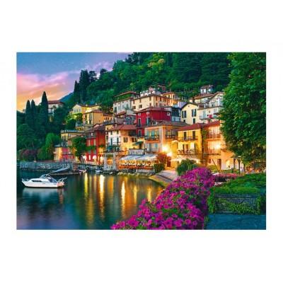 Puzzle  Trefl-37290 Comer See, Italien