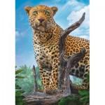 Puzzle  Trefl-37332 Leopard