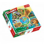 Trefl-39055 Rundpuzzle - Planeten
