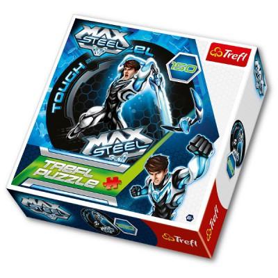 Trefl-39093 Puzzle rund: Max Steel