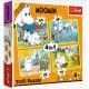 4 in 1 - Moomin happy day