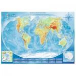 Puzzle  Trefl-45007 Large Physical Map of the World