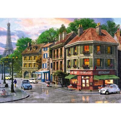 Puzzle Trefl-65001 Straße in Paris