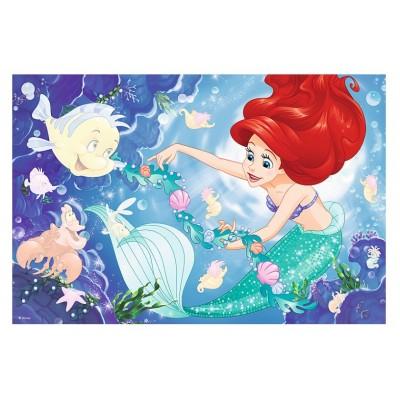 Trefl-75114 Disney Princess - Puzzle + Magic Marker