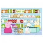 Trefl-75117 Peppa Pig - Puzzle + Stickers