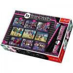 Puzzle  Trefl-90308 3 Geschichten in 3 Größen: Monster High