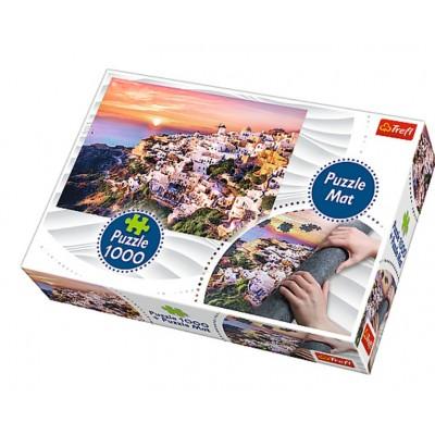 Trefl-90722 Puzzle Matte + Puzzle - Italien