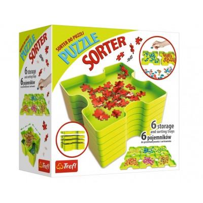 Puzzle  Trefl-90816 6 Sortierschalen