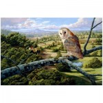 Wentworth-592206 Holzpuzzle - Barn Owl