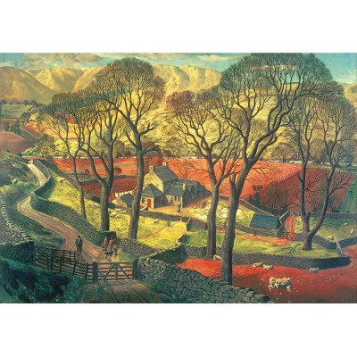 Wentworth-621504 Holzpuzzle - James McIntosh Patrick: Springtime in Eskdale