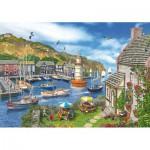 Wentworth-682702 Holzpuzzle - Dominic Davison: The Village Harbour