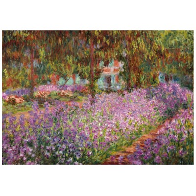 Wentworth-741004 Holzpuzzle - Claude Monet - The artist's garden in Giverny