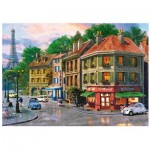 Wentworth-791605 Holzpuzzle - Dominic Davison - Paris Streets