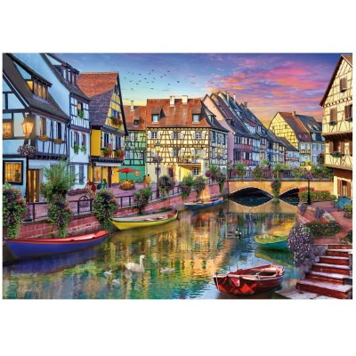 Wentworth-792002 Holzpuzzle - Colmar Canal