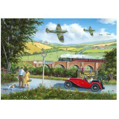 Wentworth-801209 Holzpuzzle - Spitfires
