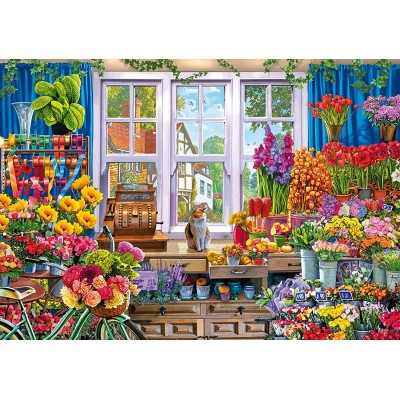 Wentworth-831208 Holzpuzzle - Flower Shop