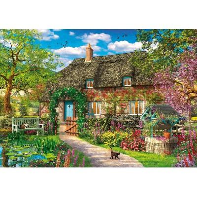 Wentworth-831502 Holzpuzzle - Dominic Davison - The Old Cottage