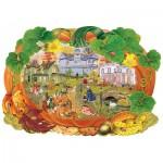 Wentworth-840201 Holzpuzzle - Victoriana Pumpkin