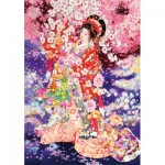 Wentworth-840713 Holzpuzzle - Haruyo Morita - Hanafubuki
