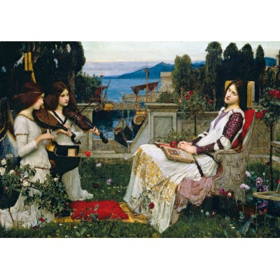 Wentworth-840904 Holzpuzzle - John William Waterhouse - Saint Cecilia