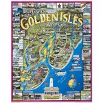 Puzzle  White-Mountain-128 Brunswick Golden Isles