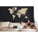 Wooden-City-WM503-8121 Holzpuzzle - Weltkarte XL