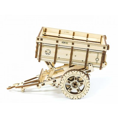 Wooden-City-WR310-8114 3D Holzpuzzle - Trailer