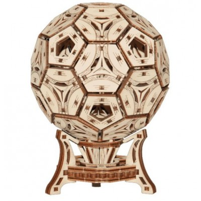 Wooden-City-WR335 3D Holzpuzzle - Football Cup