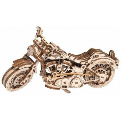 Wooden-City-WR342 3D Holzpuzzle - Cruisre V-Twin