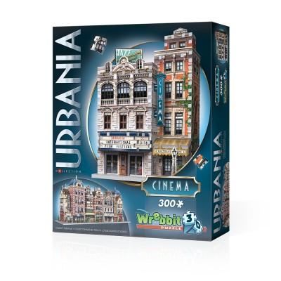 Wrebbit-3D-0502 3D Puzzle - Urbania Collection - Cinema