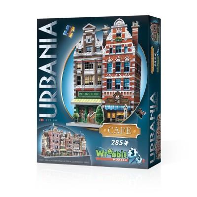 Wrebbit-3D-0503 3D Puzzle - Urbania Collection - Café