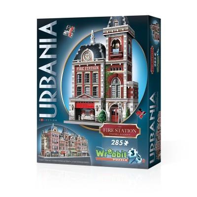 Wrebbit-3D-0505 3D Puzzle - Urbania Collection - Feuerwehrhaus