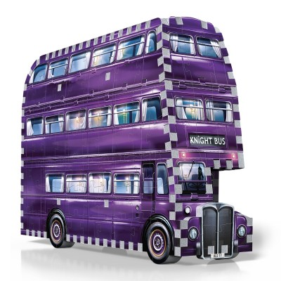 Wrebbit-3D-0507 3D Puzzle - Harry Potter: The Knight Bus