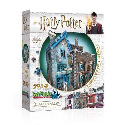 Wrebbit-3D-0508 3D Puzzle - Harry Potter - Ollivander's Wand Shop & Scribbulus