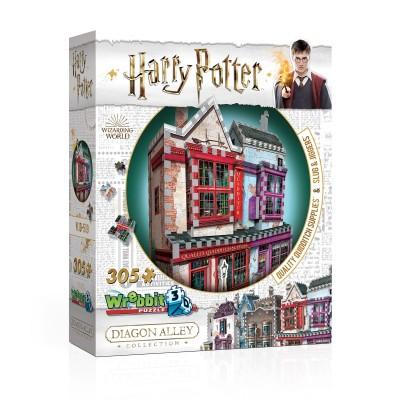 Wrebbit-3D-0509 3D Puzzle - Harry Potter - Quality Quidditch Supplies and Slug & Jiggers