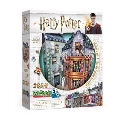 Wrebbit-3D-0511 3D Puzzle - Harry Potter - Weasleys' Wizard Wheezes & Daily Prophet