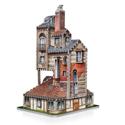 Wrebbit-3D-1011 3D Puzzle - Harry Potter (TM): The Burrow - Weasley Family Home