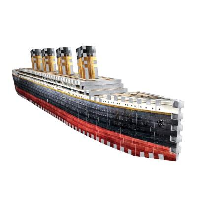 Wrebbit-3D-1014 3D Puzzle - Titanic
