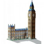 Wrebbit-3D-2002 3D Puzzle - London: Big Ben und Parlament