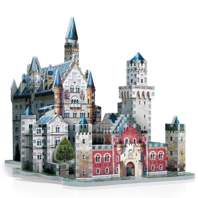 Wrebbit-3D-2005 3D Puzzle - Deutschland: Schloss Neuschwanstein