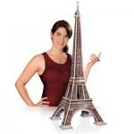 Wrebbit-3D-2009 3D Puzzle - Paris: Eiffelturm