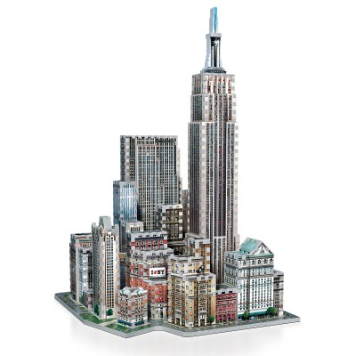 Wrebbit-3D-2010 3D Puzzle - New York Collection: Midtown West