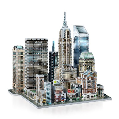 Wrebbit-3D-2011 3D Puzzle - New York Collection: Midtown East